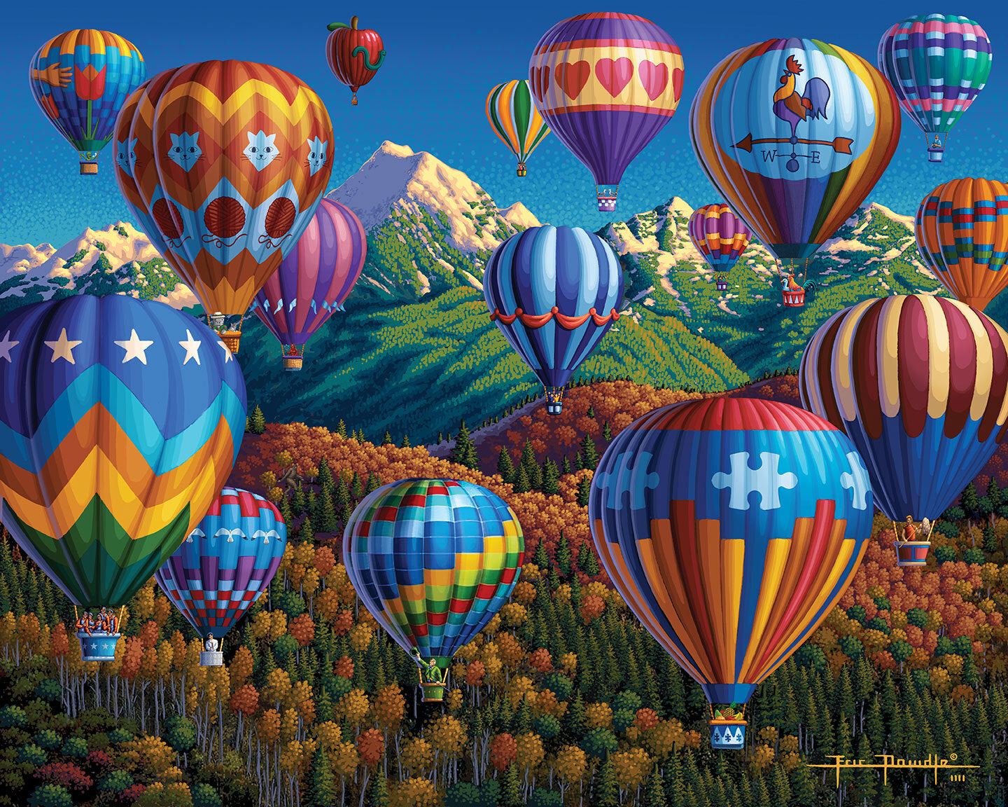 Up, Up and Away - Picture Perfect Puzzle™
