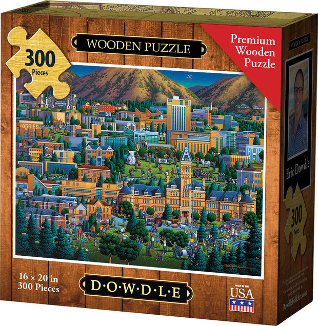 Utah State University Wooden Puzzle