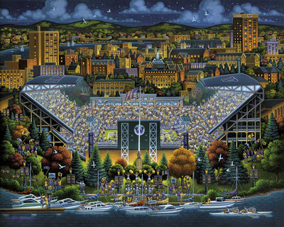 Washington Huskies - Fine Art