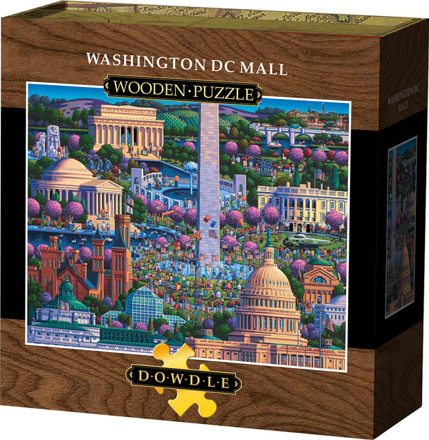 Washington DC Mall - Wooden Puzzle