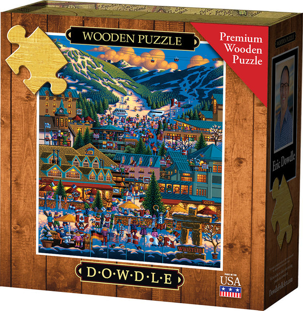 Whistler - Wooden Puzzle