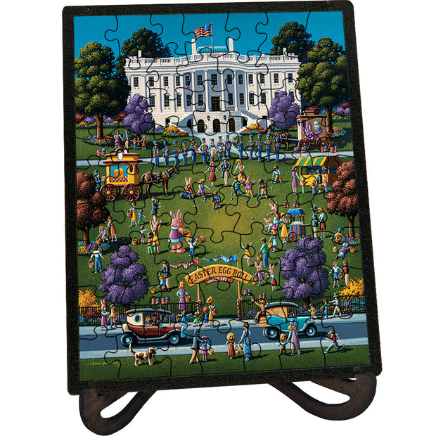 White House Easter - Picture Perfect Puzzle