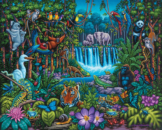Wild Jungle - Fine Art