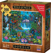 Wild Jungle - Dowdle Wooden Puzzle