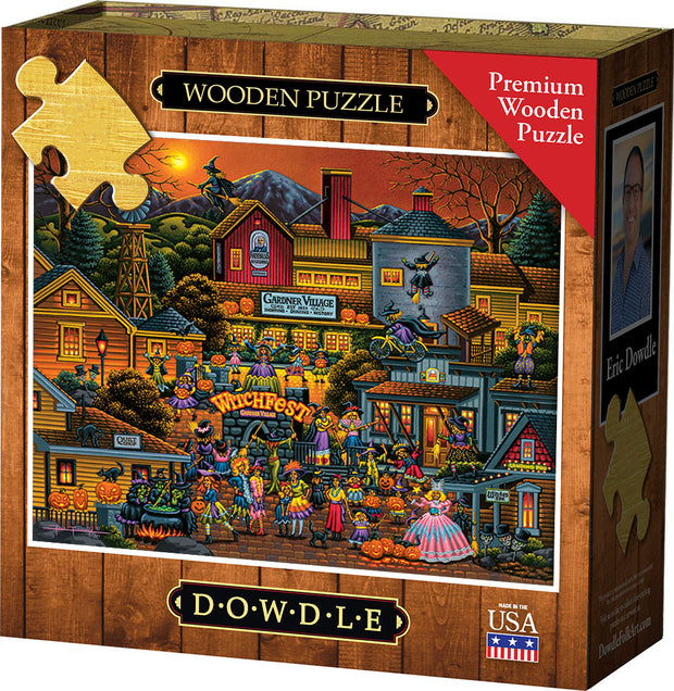 Witchfest Wooden Puzzle