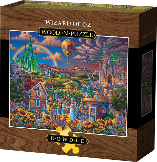 Wizard of Oz - Wooden Puzzle