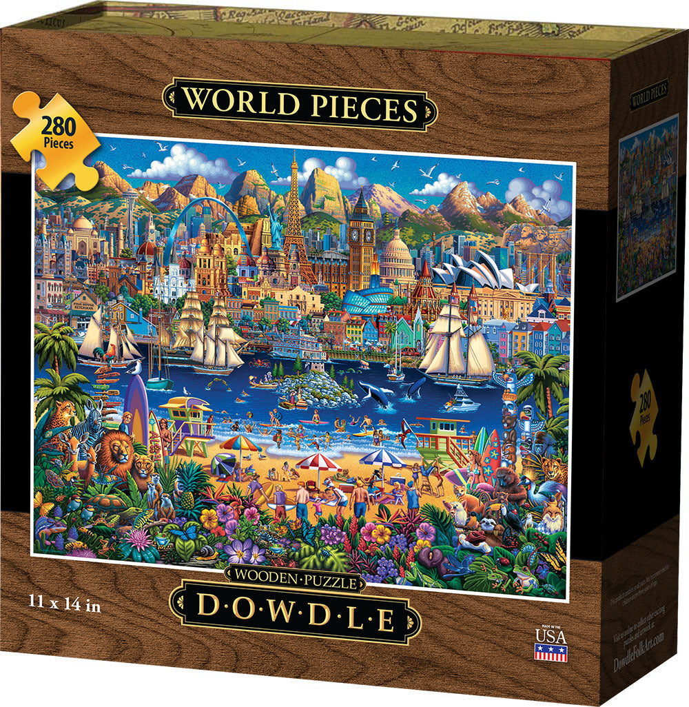 World Pieces - Wooden Puzzle