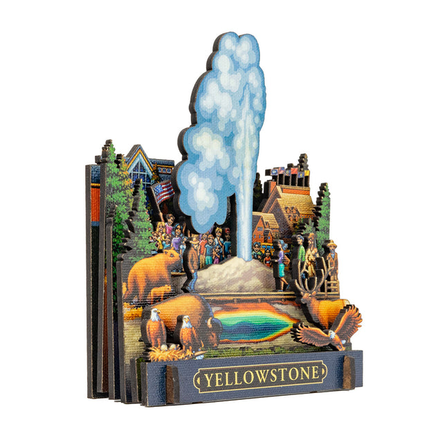 Yellowstone Old Faithful CityScape™
