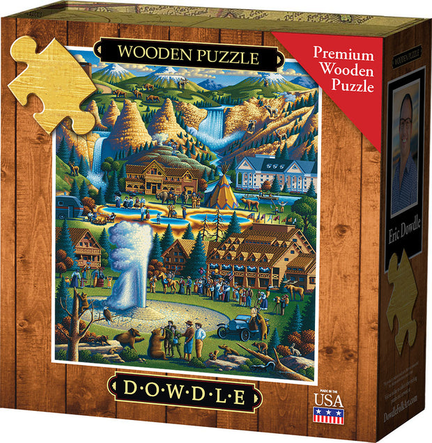 Yellowstone Wooden Puzzle