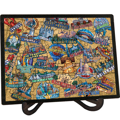 Travel America - Picture Perfect Puzzle™