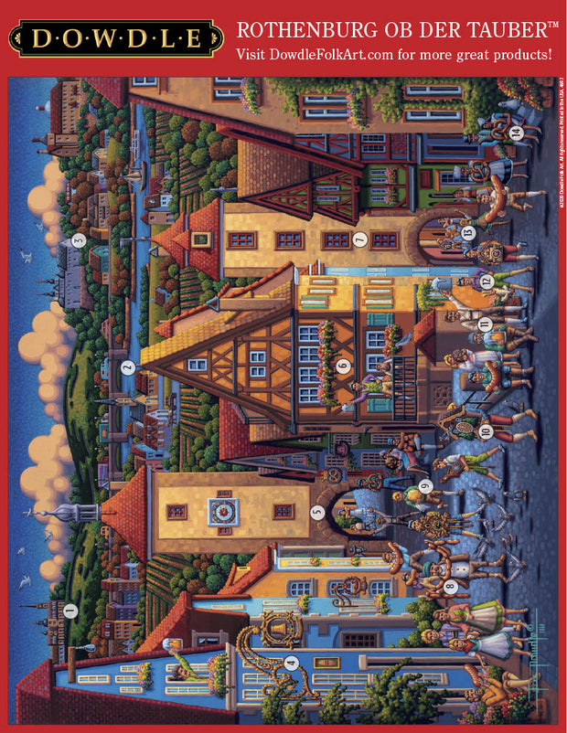 Rothenburg ob der Tauber Picture Perfect Puzzle™