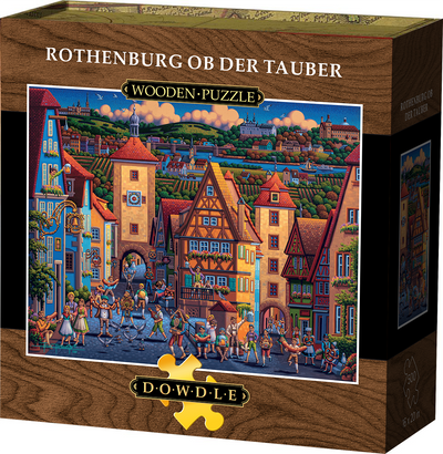 Rothenburg ob der Tauber Wooden Puzzle