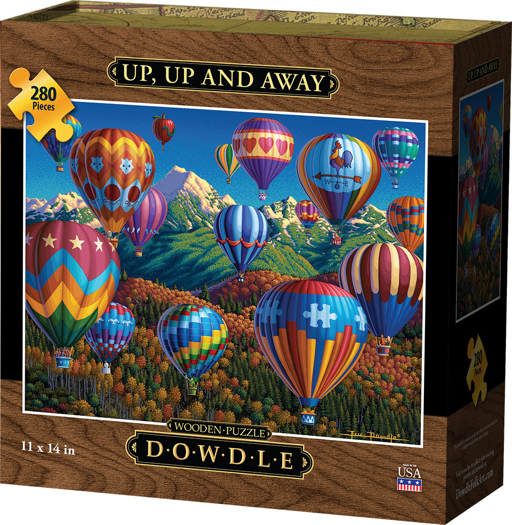 Up, Up and Away - Wooden Puzzle