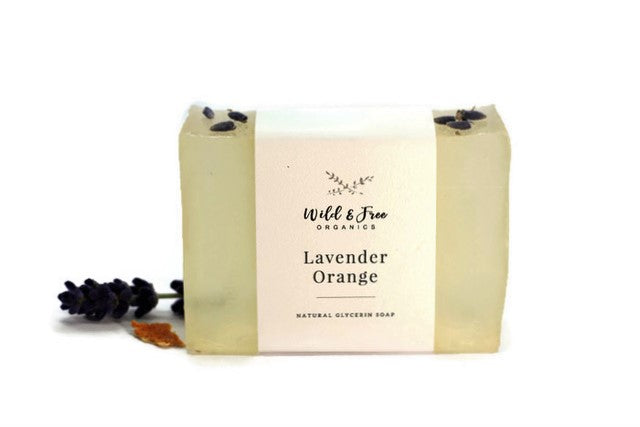 Lavender Orange Natural Glycerin Soap