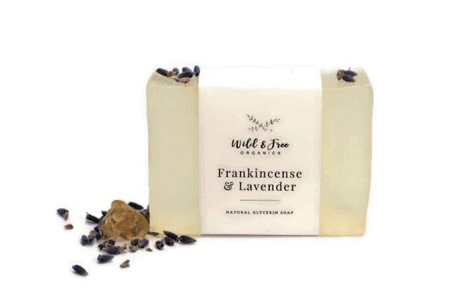 Frankincense & Lavender Natural Glycerin Soap