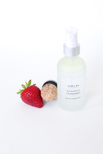 Strawberry Champagne Room & Linen Spray