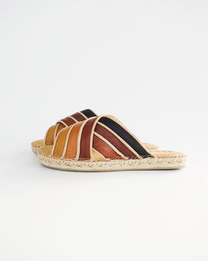 Criss Cross Slide | Nude Multi | SIZE 8 WIDE