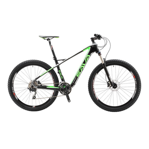 "SAVA Plus 3.0 27.5"" Mountainbike en fibre de carbone"