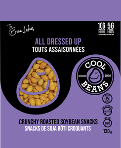 'All Dressed Up' Roasted Bean Snacks