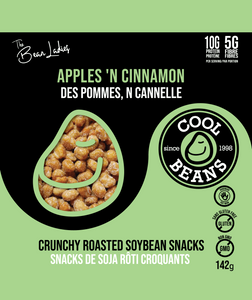 Apples 'N Cinnamon Roasted Bean Snacks