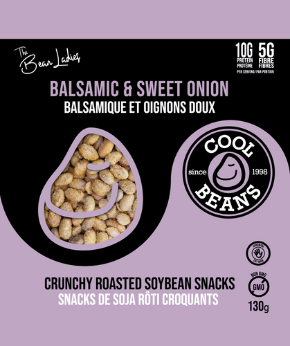 'Balsamic & Sweet Onion' Roasted Bean Snacks