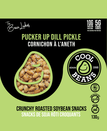 'Pucker Up Dill Pickle' Roasted Bean Snacks