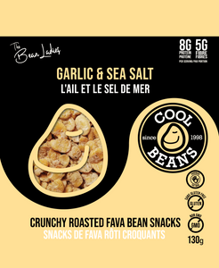 Garlic & Sea Salt Roasted Bean Snacks