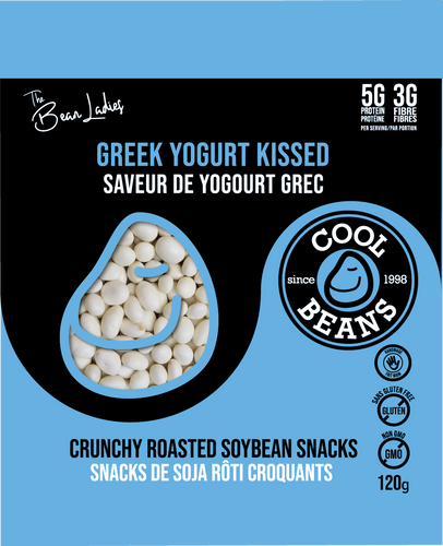 'Yogurt Kissed' Roasted Bean Snacks