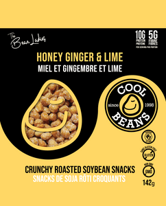 'Honey Ginger & Lime' Roasted Bean Snacks