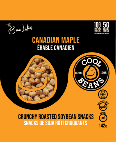 'Canadian Maple Eh!' Roasted Bean Snacks
