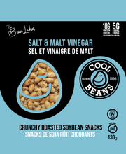 'Salt & Malt Vinegar' Roasted Bean Snacks