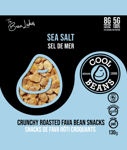 Sea Salt Roasted Bean Snacks