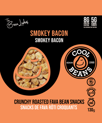 'Smokey Bacon' Roasted Bean Snacks