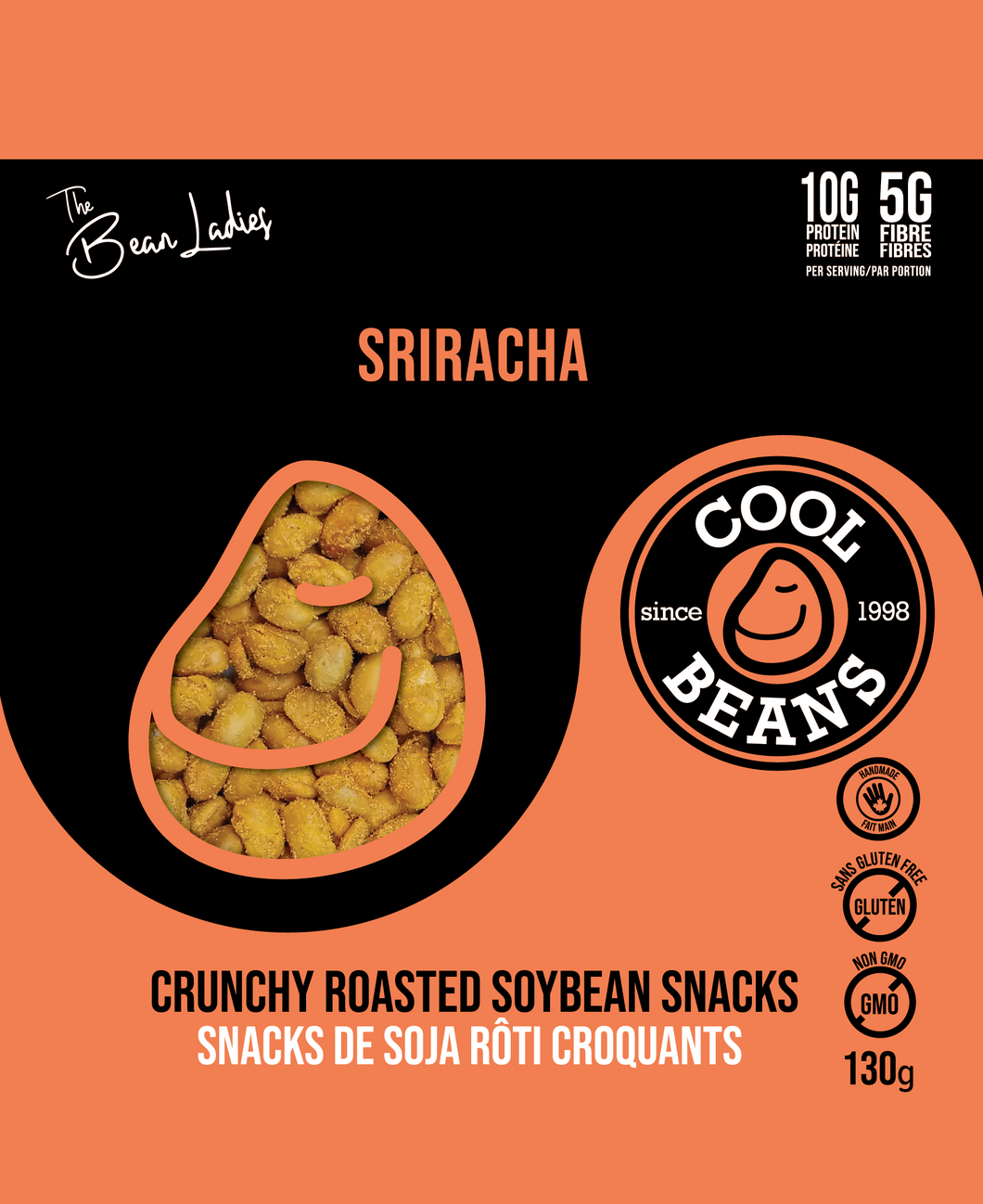 'Sriracha' Roasted Bean Snacks
