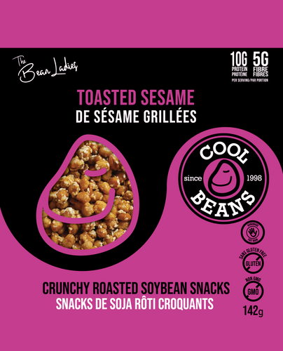 'Toasted Sesame' Roasted Bean Snacks