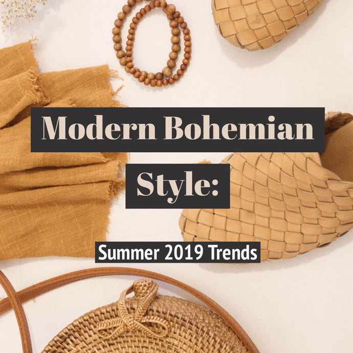 Modern Bohemian Style: Summer 2019 Trends We Love