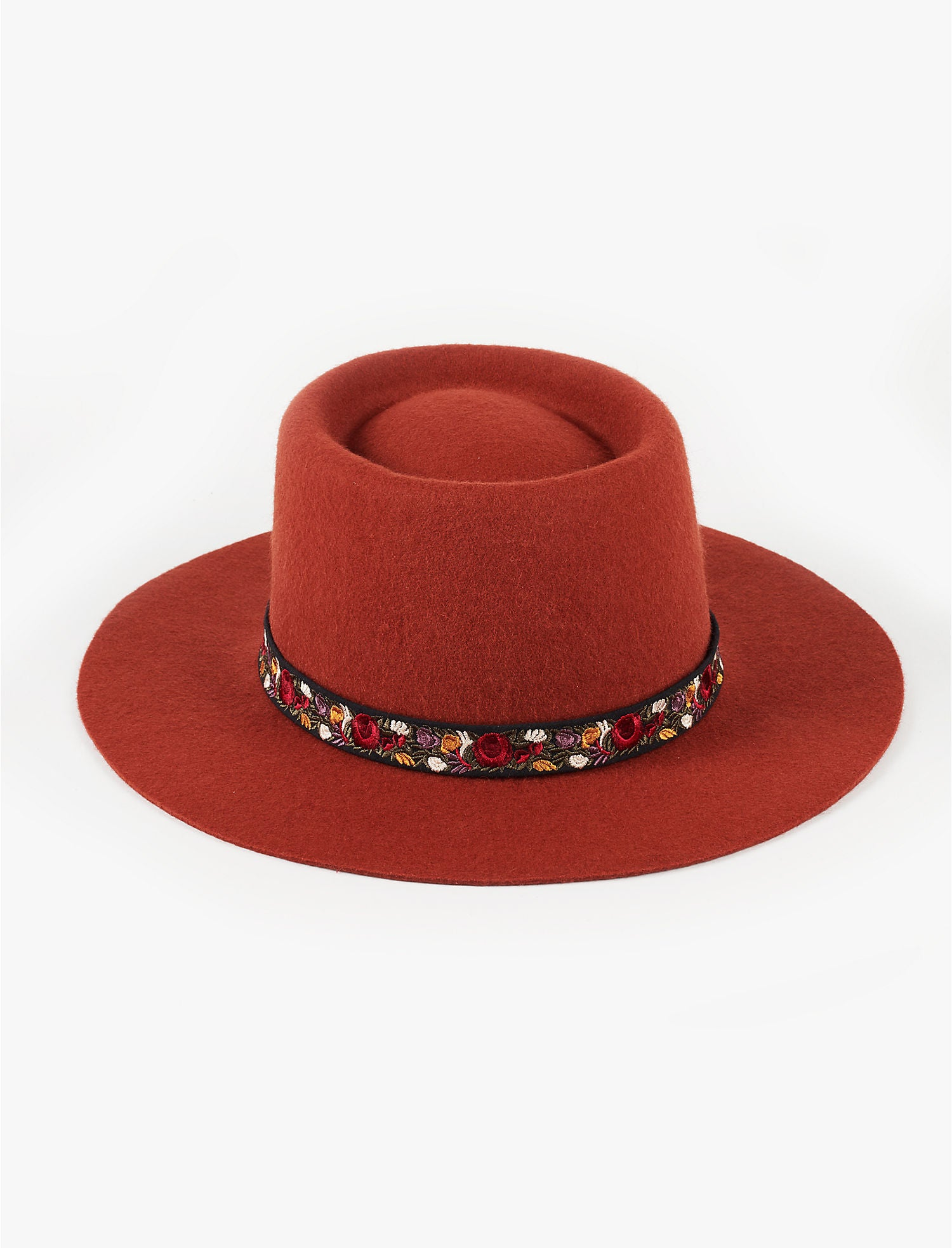 Boho Chic Hat Rust