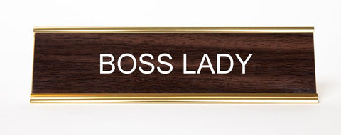 gift for entrepreneur boss lady sign