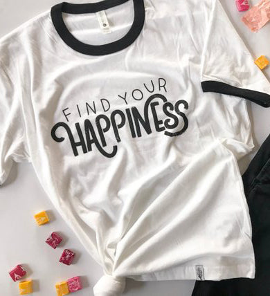 gift for business owner find your happiness tee