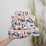 Blush Floral Pack Like a Boss™ Diaper Bag Packing Cubes