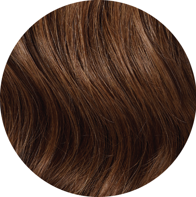 "Mulberry Topper Hair Extensions Ash Brown 20"" Colour Swatch"