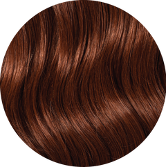 "Mulberry Halo Hair Extensions Copper 20"" Colour Swatch"