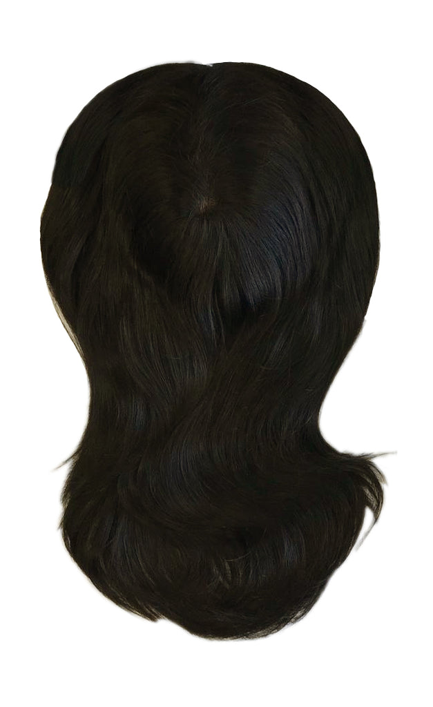 Mulberry Topper Natural Black Hair Extensions  20""