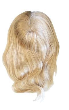 "Mulberry Topper Hair Extensions Blonde 12"" Colour Swatch"