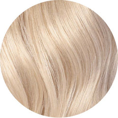 "Mulberry Clip In Hair Extensions Platinum Blonde  20"" Colour Swatch"