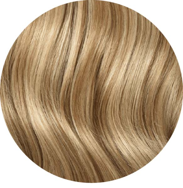"Mulberry Layered Hair Extensions Natural Blonde 12"" Colour Swatch"