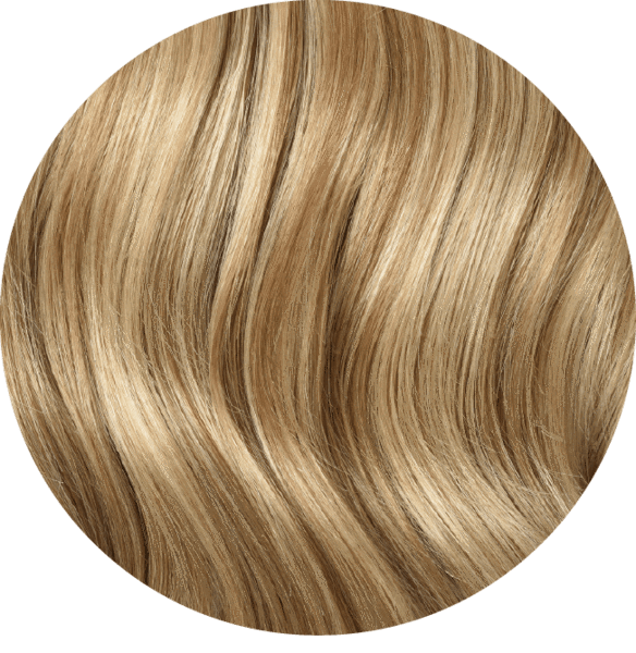 "Mulberry Halo Hair Extensions Natural Blonde 20"" Colour Swatch"