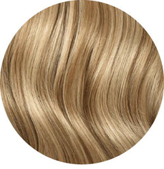 "Mulberry Clip In Hair Extensions Natural Blonde  20"" Colour Swatch"