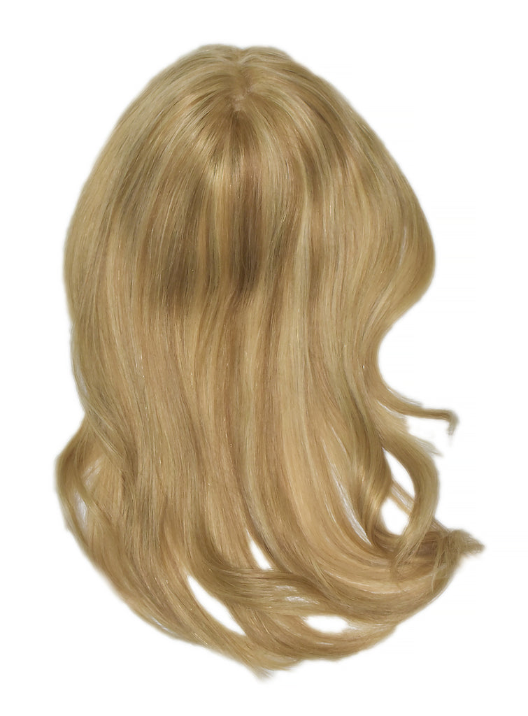 Mulberry Topper Halo Hair Extensions Natural Blonde 12""