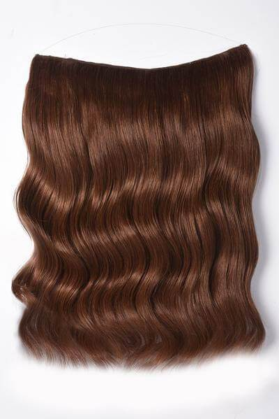 "Mulberry Halo Hair Extensions Copper 20"" Front"